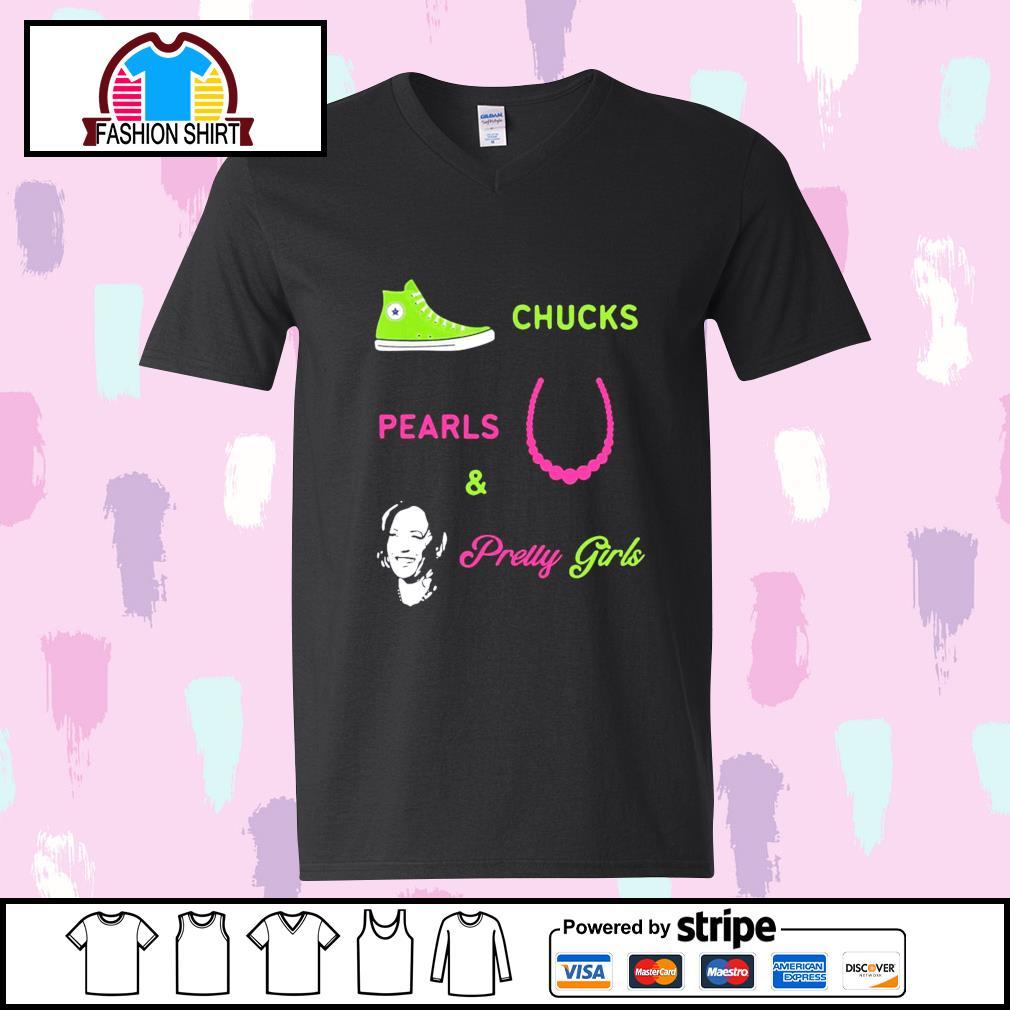 Chucks Pearls and pretty girls Kamala Harris Inauguration s youth-tee