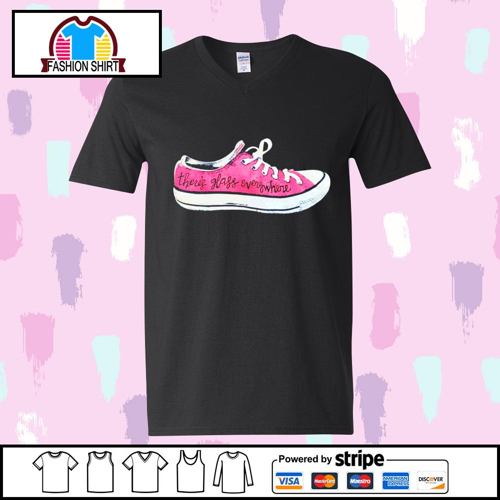 Converse there's glass everywhere sneaker s youth-tee