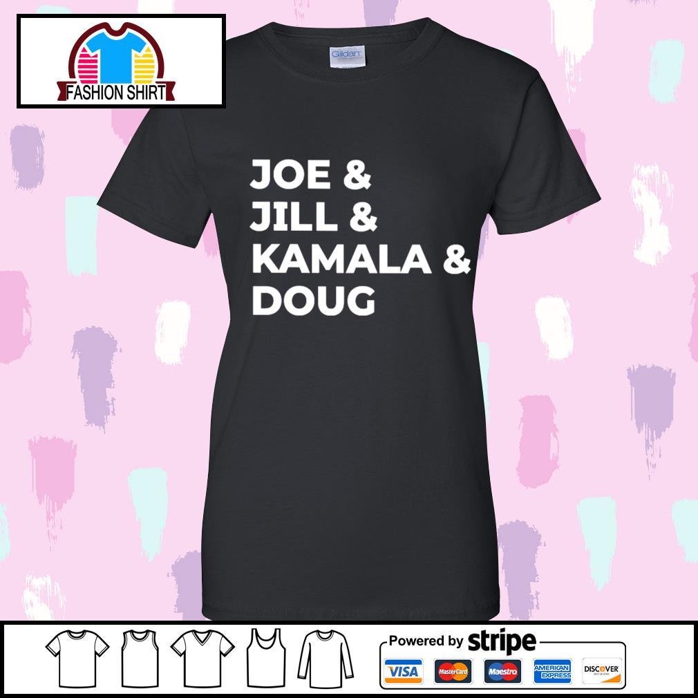 Joe and Jill and Kamala and Doug s v-neck-t-shirt