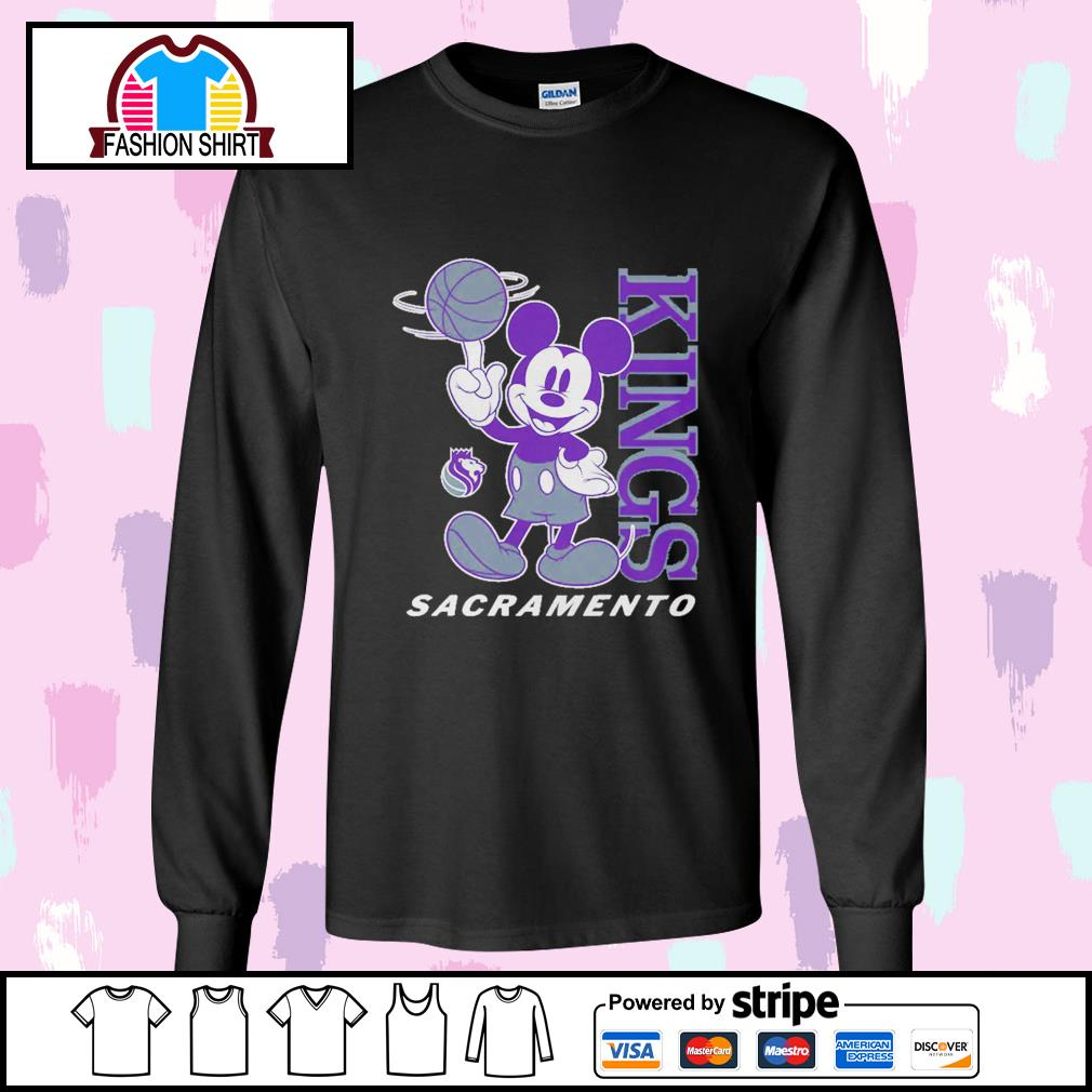 Mickey Mouse Disney Sacramento Kings s longsleeve-tee