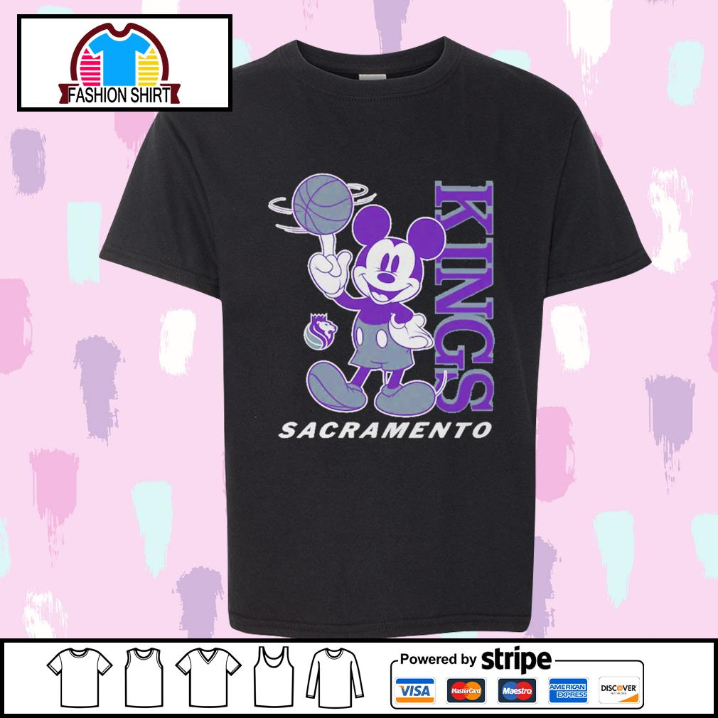 Mickey Mouse Disney Sacramento Kings shirt