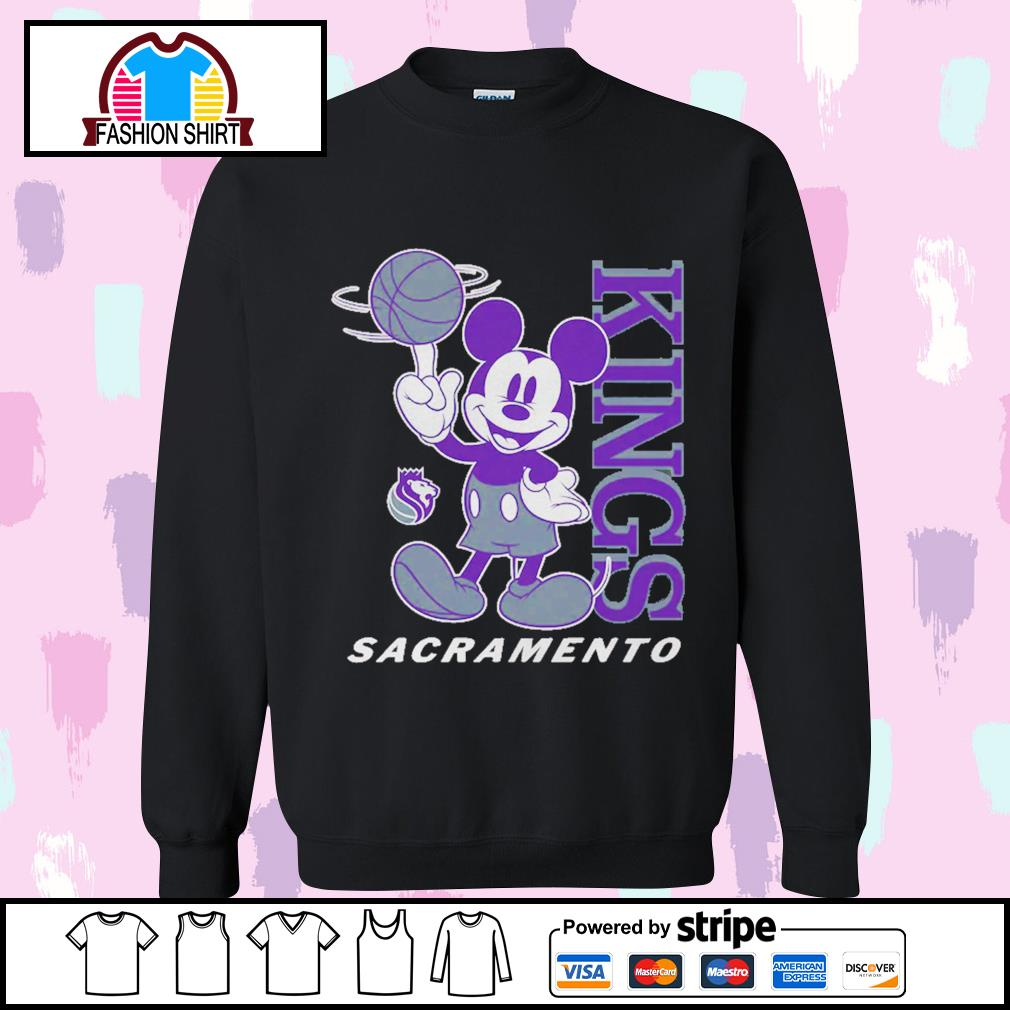 Mickey Mouse Disney Sacramento Kings s sweater