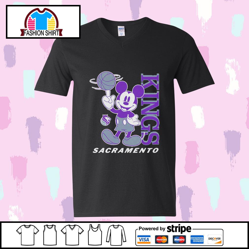Mickey Mouse Disney Sacramento Kings s youth-tee