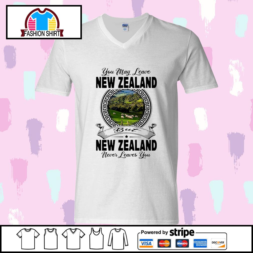 You may leave New Zealand but New Zealand never leaves you s youth-tee